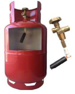 Безопасный газовый баллон 50 л