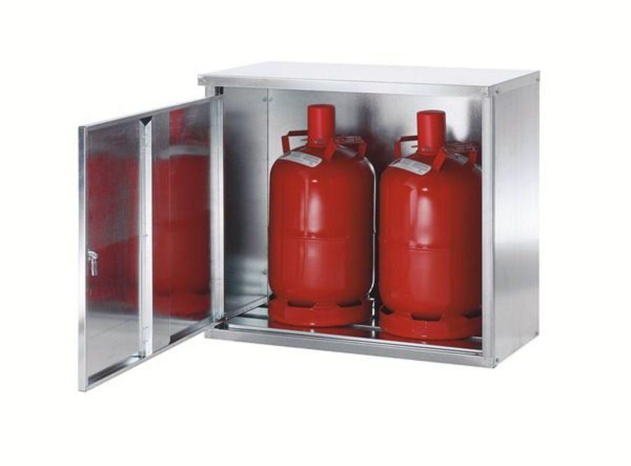 Особенности шкафов для газовых баллонов
